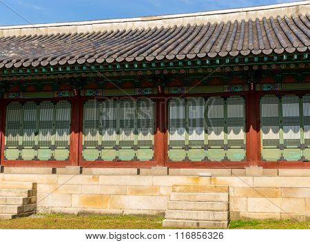 Exterior of Korean traditional architecture