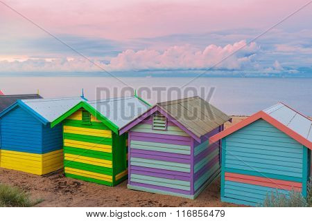 Brighton Small Bathing Houses, Australia