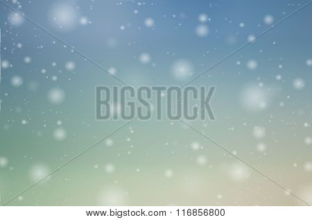 Snow Drops Background