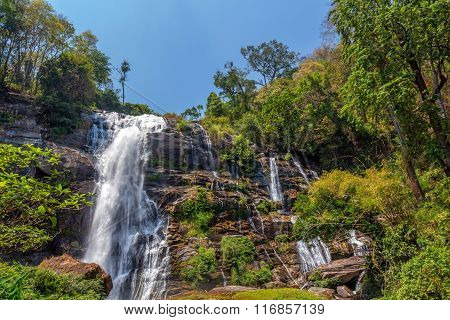 Wachirathan Waterfal In Doi Inthanon