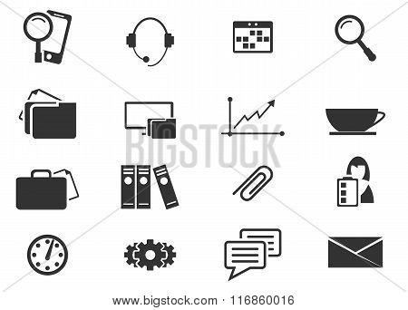 Office and Business Icons set