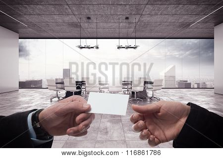 Deal in a meeting room