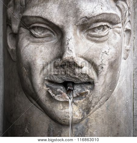 Fountain With Face