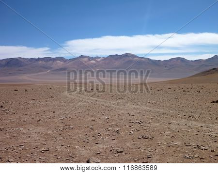 Desierto Colorado At Bolivia Altiplano Desert