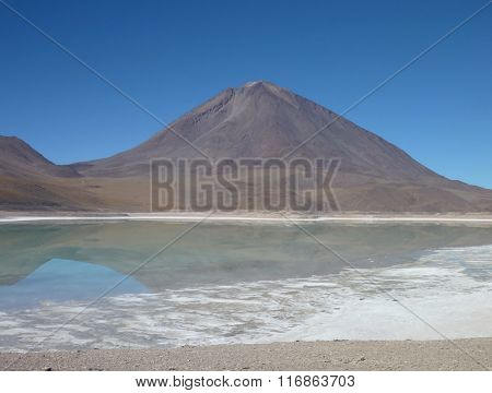 Volcan Licancabur At Chilean Bolivian Border