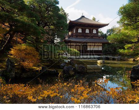 The Silver Pavillion, Ginkakuji Temple, Kyoto, Japan