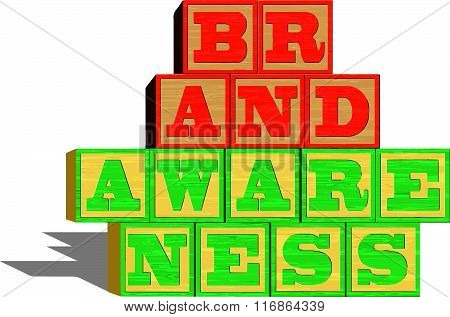 Brand Awareness (isolated on white background)