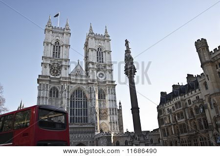 Westminster Abbey in London