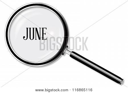 June Magnifying Glass