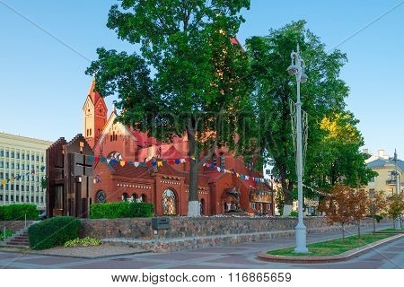 Church Of St. Simeon And St. Helena In Minsk, Belarus