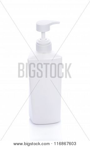 Cosmetic Container Isolated On White Background