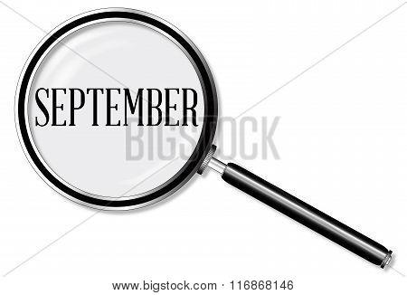 September Magnifying Glass
