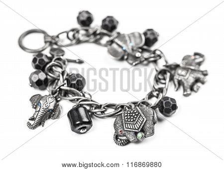 Bracelet With Symbols Of Elephants