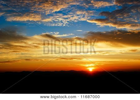 Beautiful Twilight Sunrise Sky