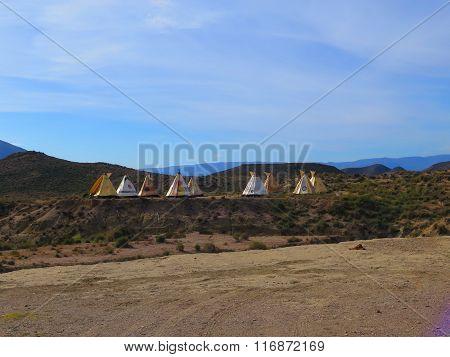 Indian Wigwam Village