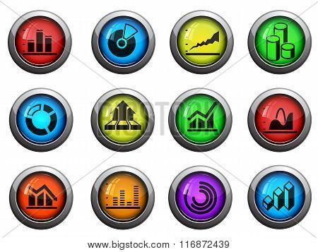 Information graphic icons set