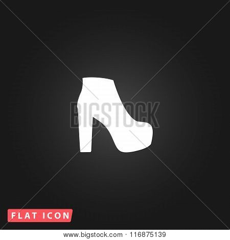 Womens shoes icon