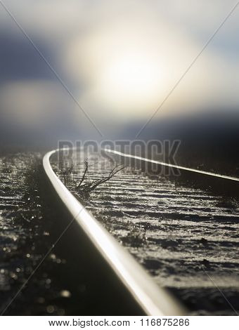 old railway track