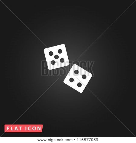 dice flat icon