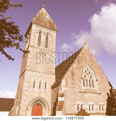 Cardross Parish Church Vintage