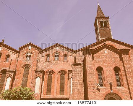 Sant Eustorgio Church, Milan Vintage