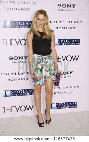 Teresa Palmer at the Los Angles Premiere of