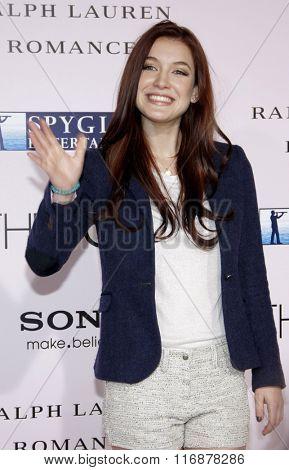 Nathalia Ramos at the Los Angles Premiere of