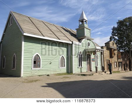 Wooden Church Building