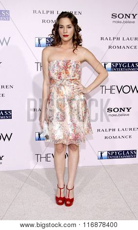 Chista B. Allen at the Los Angles Premiere of