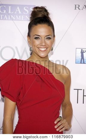 Jana Kramer at the Los Angeles Premiere of