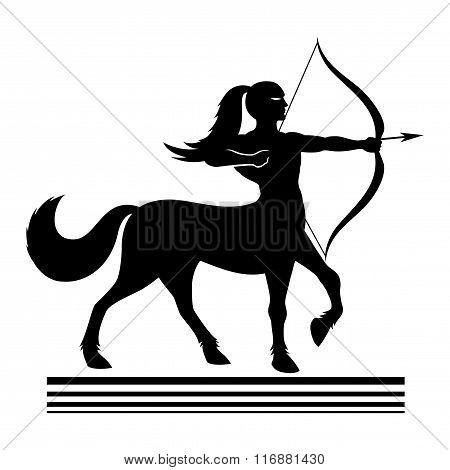 Strong centaur archer.