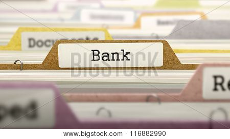 Bank on Business Folder in Catalog.