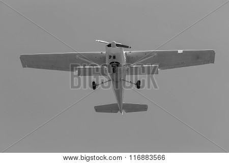 Plane Light Aircraft Flying Vintage