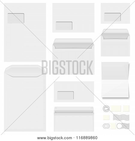 Collection Envelopes, Stationery And Postmarks