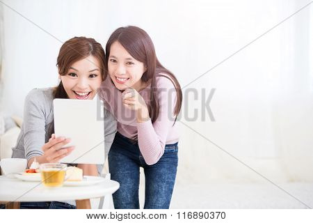Happy Young Female Friends