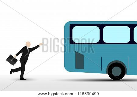 Businessman who runs the bus
