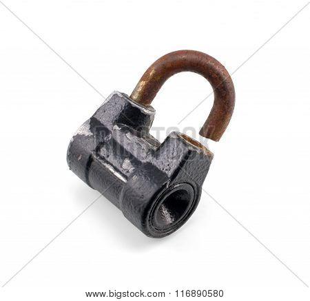 Old Broken Lock