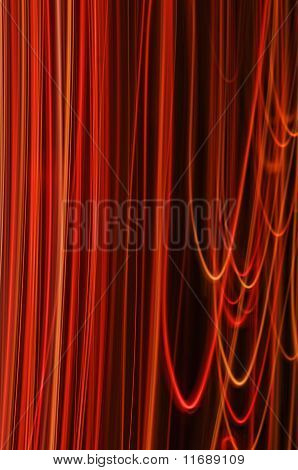 Vivid Red Strings Abstract Background Series