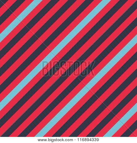 Seamless geometric pattern. Stripy texture for neck tie. Diagonal contrast strips on background. Con