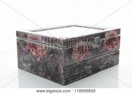Trunk For Storage Of Jewelry And Trifles