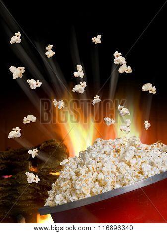 Popcorn Flying.
