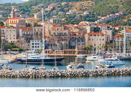Marina Of Propriano Resort Town, South Corsica