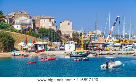 Bay Of Propriano Resort Town, South Corsica