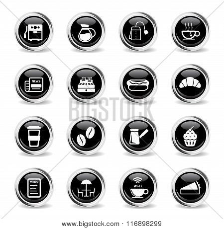 Cafe simply icons