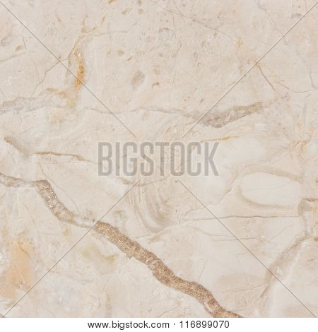 Cream marble background with natural pattern.