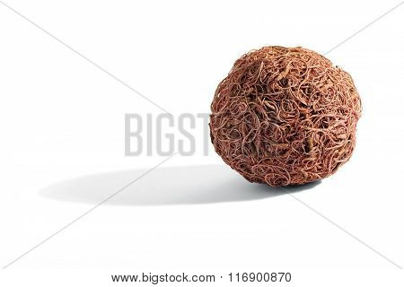 Wooden Compressed Spherical Fibers