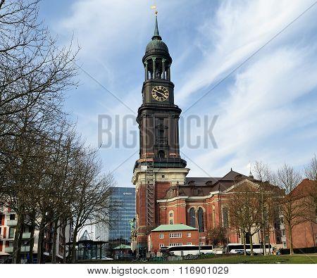 Saint Michaelis Church, Hamburg, Germany