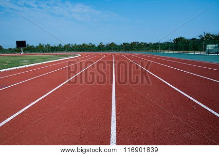 Athlete Track or Running Track