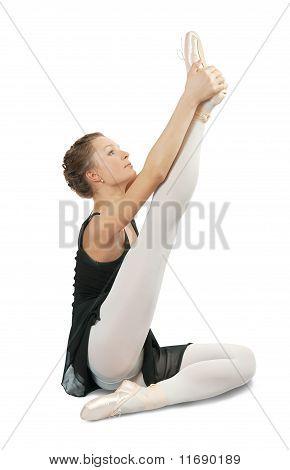 Brunette Ballerina Girl