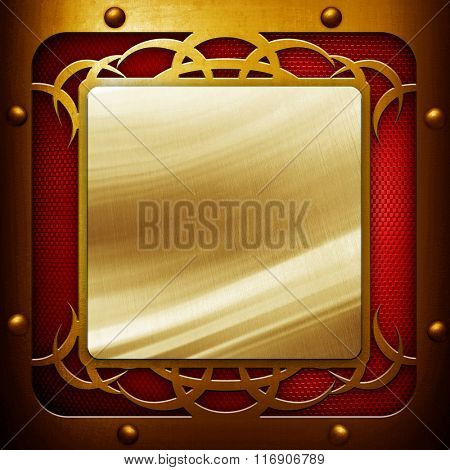 abstract iron plate background